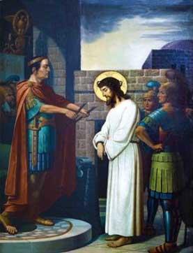Jesus y Pilato
