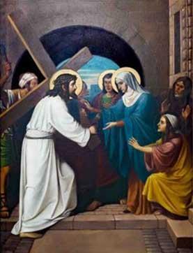 Jesus con su madre