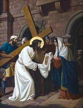 Jesus con Veronica