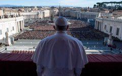 Papa en la santa sede