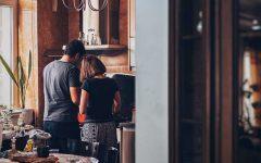 matrimonio cocinando