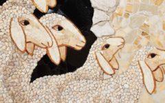 Mosaico de corderos