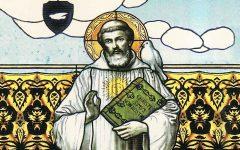 Pintura de San Columbano